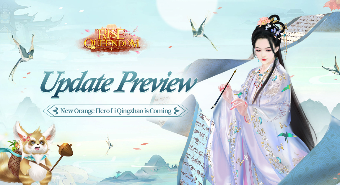 [Update Preview] New Orange Hero Li Qingzhao is Coming